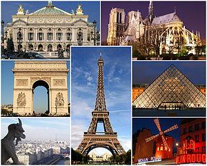 Путеводитель по самым красивым местам Парижа