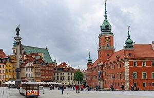 Туристические достопримечательности Варшавы