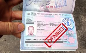 Основные причины отказа в получении визы