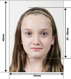 2 параметра фотографий для шенгенской и стандартной визы