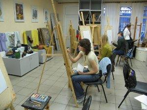 Кафедра живописи в высшей школе