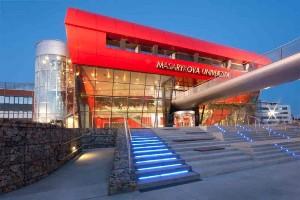 Новое здание университета