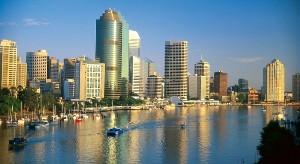 город Брисбен в Австралии