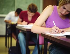 Сдача экзаменов для поступления